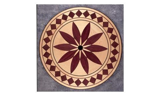 Custom Inlays for wood floors