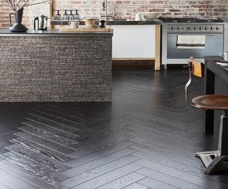 herringbone hardwood floor pattern installation