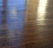 Deep Cleaning Wood Floors