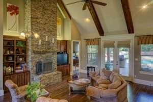 Fireplaces and Your Hardwood Flooring