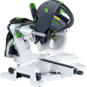 Product Spotlight: Festool Sliding Compound Miter Saw KS 120 jason brown wood floor