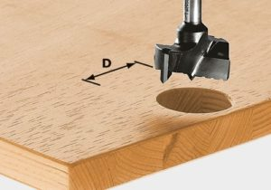 Hinge location cutter HW