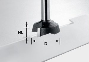 Carbide-tipped facing cutter