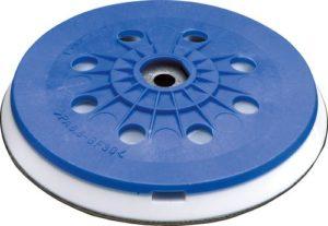 "Sanding pad dia. 5"" (125 mm)"