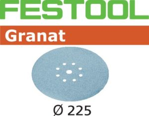 "StickFix sanding discs dia. 9"" (225 mm) for plaster filler"